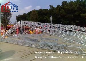 China 15m Span Aluminium Roof TrussesHand Hoist Strong Loading Capacity For Event on sale