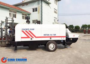 China Stationary Trailer Mounted Concrete Pump Diesel Engine 66kw Electrical Engineering Power on sale