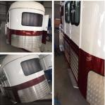 2Horse Angle Load Deluxe Version  Cupboards and Water System From China Factory