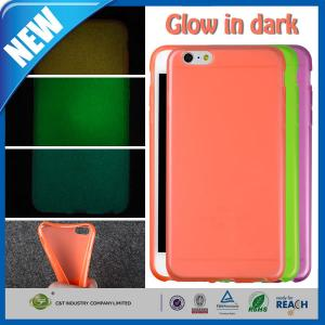 China Fluorescence Night Lights Protective Tpu Case Protector For Iphone 6 Plus 5.5 Inch on sale