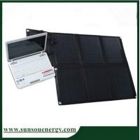 High qaulity cheap price 60w to 240w foldable solar panel charger for laptop / phones / batteries etc