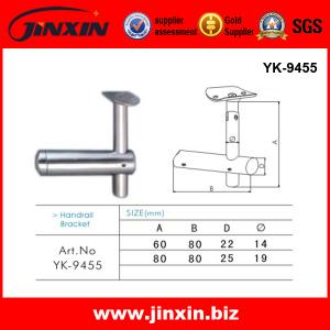 China Stainless Steel slot handrail fittings on sale