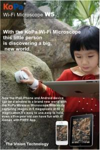 China Educational toy-WiFi microscope distributors wanted in Australia on sale