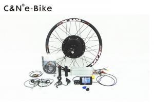 China Punch Card system colorful display fat mountain e bike/ebike/electric bike kit hot sale 48v 1000w fat bike kit on sale