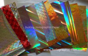 China Holographic transfer paper on sale