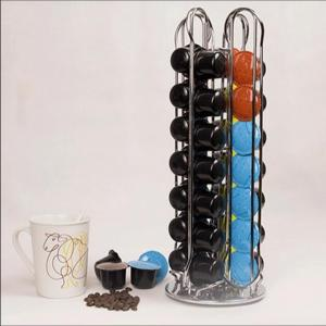 China coffee Machines Revolving Rotating 40 Capsule Coffee Pod Holder on sale