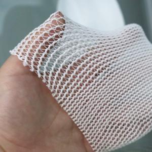 China Medical Headgear Hat Cap Elasticated Tubular Bandage / Elastic Net Bandage White Colour on sale