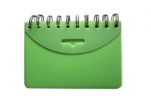 """China 3""""x5 PP cover Spiral Index Card book  on sale"""