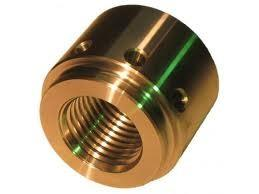 China ASTM / AISI / BS CNC Machined Parts , Copper / Brass End Cap Small CNC Lathe Machining on sale