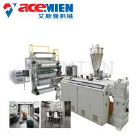Sheet Board Extrusion Wall Panel Machine , Artificial Marble Production Line PVC Faux