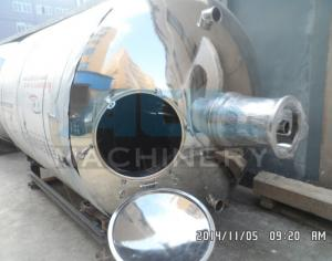 China Double Jacketed Stainless Steel Mixing Tank 500 Gallon Steam Heating Mixing Tank (SUS304 or S. S. 316L) on sale
