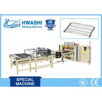 China Fully Automatic Spot Welding Machine For Oven Glide Rack With Wire Hopper on sale