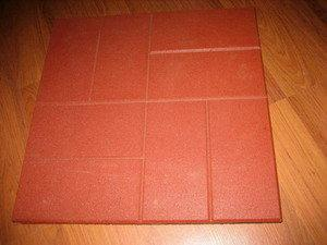 China Rubber Paver Tiles on sale