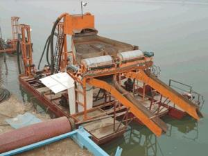 China cutter suction type iron ore dredger on sale