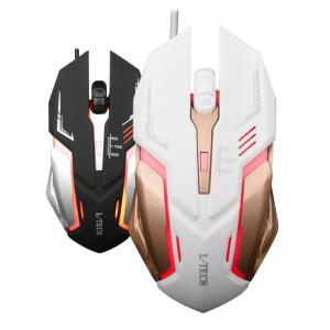 China 1.5m Wired Computer Hardware Devices Gaming Mouse With 7 Color Backlight on sale