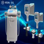 New 5 handles cryolipolysis body slimming beauty equipment for clinic in advance