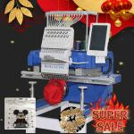 Tajima/brother type 450*650mm single head computer embroidery machine for cap/shoes/flat/tshirt/hat/3d/sequin/cording