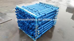 China Q235 / Q345 Cuplock Scaffolding System With hot dip galvanized Pipe on sale