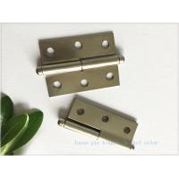 China Multi - Purpose High Security Door Hinges Nickel Plated Butt Type on sale