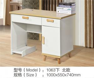 China Household MDF Painted Desktop Computer Desk With Excellent Stablility on sale
