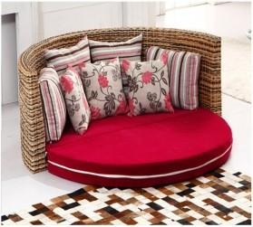 Rattan + Seagrass Sofa Series 03