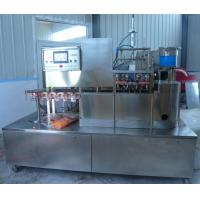 chain-type standing bag filing and capping machine