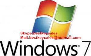 Quality Microsoft Windows 7 Professional OEM KEY, Original online activation key code for sale
