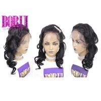 China Pre Plucked Human Lace Front Wigs With Baby Hair , Malaysian Pre Plucked Human Hair Lace Wigs on sale