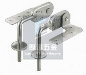 China Hardware sofa backrest hinge with short ear + screw on sale