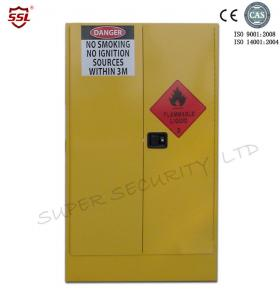 quality yellow paint chemical flammable storage cabinet with dual vents for dangerous goods 250l for sale - Paint Storage Cabinets