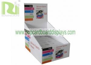 China Enviromental and Portable Cardboard Carton Box Display Stand on sale