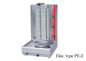 China Kebab Restaurant Cooking Equipment , Adjustable Gas / Electric Shawarma Machine on sale