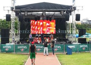 China Full Color Outdoor LED Screen Rental Video Advertising Board P3.91 For Event / Stage on sale