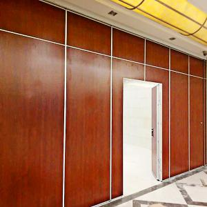China Modular Fireproof Sliding Room Divider Partition for Restaurant Furniture on sale