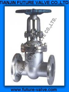 China PN16 Stainless Steel Flanged Gate Valve on sale