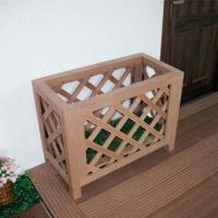Wood Plastic Composite Flowerpot Decking, Environment-protection, Anti-corrosion, Maintenance-free