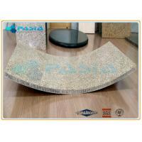 China Light Weight Curved Honeycomb Stone Panels Ultra Thin Granite Panels on sale