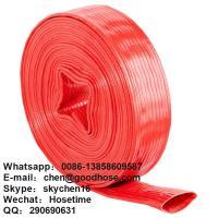 China manufacturer pvc lay flat water hose/pvc layflat discharge hose/ water hose/Layflat hose