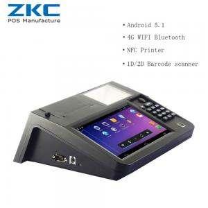 China 8inch touch screen built in printer tablet pos support nfc rfid code scanner for small shop on sale