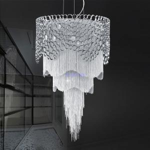 China Decorative chain for light fixtures chandelier lamp with Lampshade Sliver Color (WH-CC-15) on sale