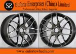 Black 19 inch Machining Surface Tuning Wheels HRE - Like Aluminum Alloy Wheels