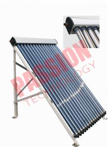 China 20 Tubes Heat Pipe Evacuated Tube Solar Collectors For Swimming Pool on sale