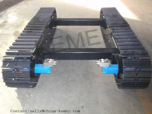China Steel Crawler Chassis/crawler track undercarriage ( for Excavator/Crane/Drilling Rig/compressor etc) on sale