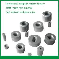 Tungsten carbide drawing dies and pellets for wires