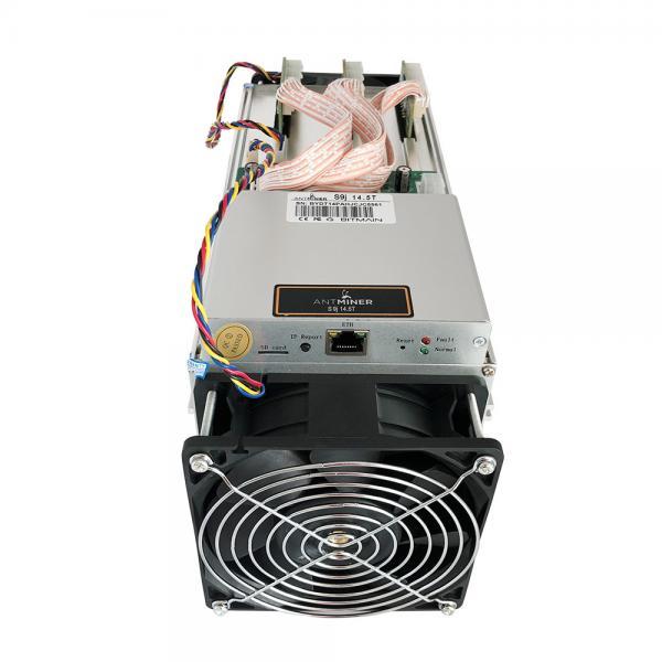 BTC Antminer S9j-14 5 Th/s Bitcoin Mining Equipment 1350W