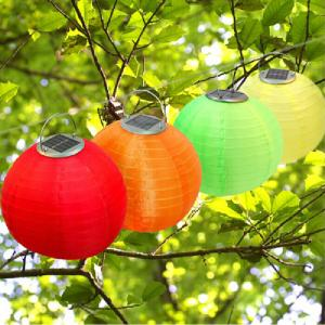 China 12 inch Solar Lantern Hanging On Tree Solar Lanterns Hanging Solar Lantern Lights Solar Lighting for Decoration on sale