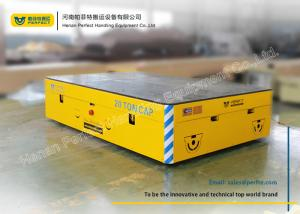 China Steel Mill Material Transfer Cart Installed Safe Devices No Rails Fetter on sale