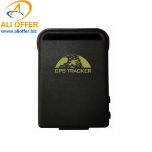 China Waterproof Powerful Magnet Mini GPS Tracker GPS102B Vehicle Kid Elderly,Fleet Tracking Solution Sim Card SMS GPRS TK-102 on sale
