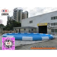 Inflatable Above Ground Swimming Pools For Bumper Boat  , Water Balls