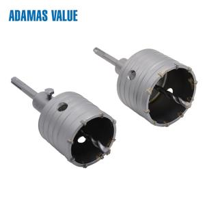 China Hollow Electric Sds Hammer Drill Bits Tungsten Carbide Material 40Cr on sale
